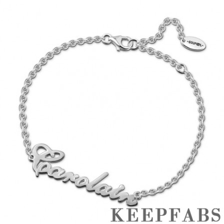 Personalized Name Bracelet - Length Adjustable