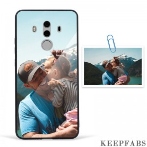 Custom Photo Protective Phone Case Glass Surface