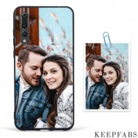 Custom Photo Protective Phone Case Black Soft Shell Matte