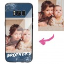 Galaxy S8 Custom Brothers Photo Protective Phone Case