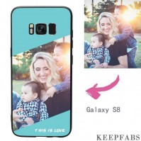 "Galaxy S8 Custom ""This Is Love"" Photo Protective Phone Case Soft Shell Matte"