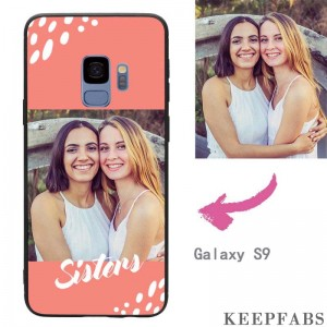 "Galaxy S9 Custom ""Sisters"" Photo Protective Phone Case Soft Shell Matte"