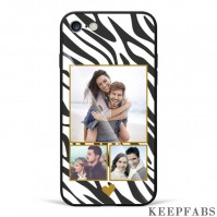 iPhone 6/6s Custom Photo Protective Phone Case - Glass Surface - 3 Pictures