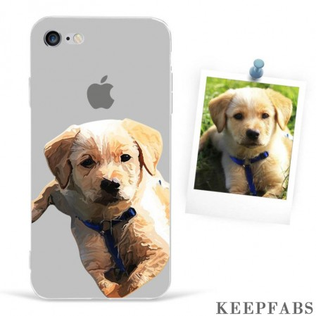 iPhone 6/6s Custom Photo Protective Anime Phone Case Soft Shell Matte