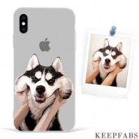iPhone Xs Custom Photo Protective Anime Phone Case Soft Shell Matte