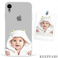 iPhone Xr Custom Photo Protective Anime Phone Case Soft Shell Matte