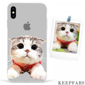 iPhone Xs Max Custom Photo Protective Anime Phone Case Soft Shell Matte