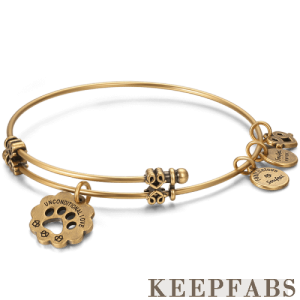 Unconditional Love Charm Bangle