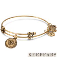 Token of Love Charm Bangle