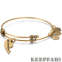 Best Charm Bangle Gold Plated