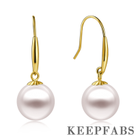 Sea Pearl Earrings 18k Gold