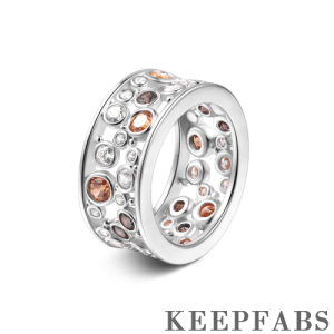 Hallow Eternity Ring Silver