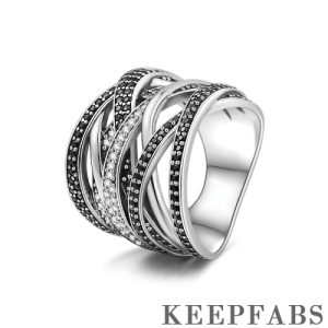 Twist of Fate Eternity Ring Silver
