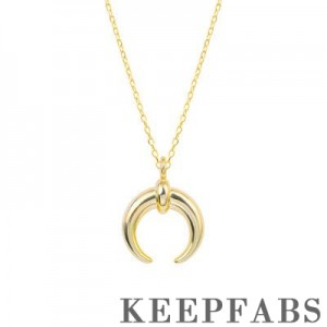Crescent Moon Pendant Necklace Z901562566433