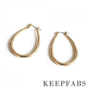 Bright and Smooth Earrings 37mm