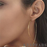 Fish Shaped By Hand Earrings