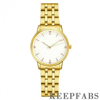 Luxury Elegant Mechanical Watches White Dial - Men's