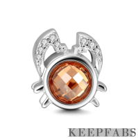 Cancer Charm Silver