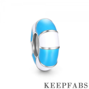 Blue Swim Ring Stopper