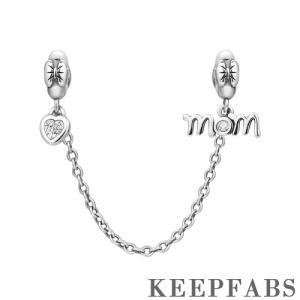 Love Mom Safety Chain