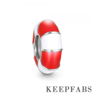 Red Swim Ring Stopper