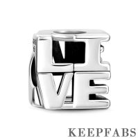 Live Charm Silver
