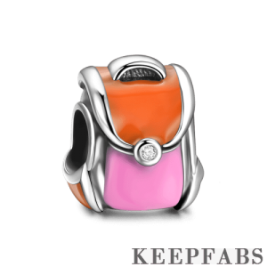Backpack Charm Silver