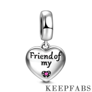 Friend of My Charm Silver