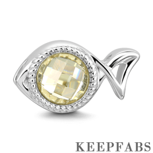 Pisces Charm Silver