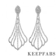 Tassel Claw Drop Earrings